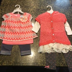 2 girls outfits